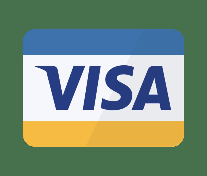 Alla 21 Live Casinon med Visa