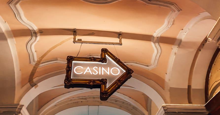 Spel i ett live casino